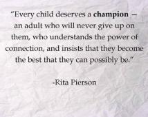 child deserves