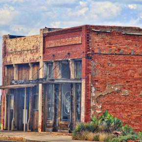 Old Texas Store Fronts