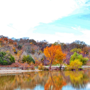 Fall Reflections on Lake Ray Roberts