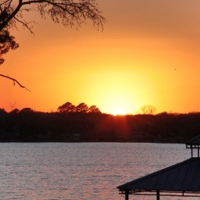 Sunset At TheLake