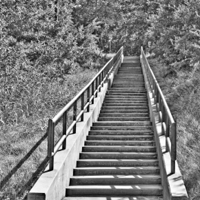 Stairs To Where? — Monochrome Madness Challenge