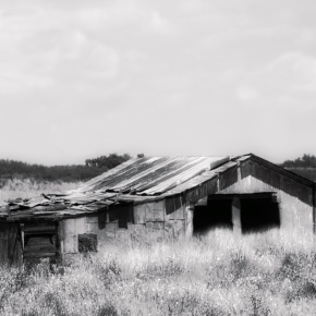 Old Barn – Monochrome Madness Challenge