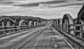 Over the Red River – Monochrome Madness Challenge