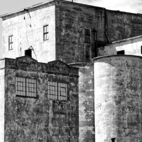 Old Flour Mill b & w – Monochrome Madness Challenge
