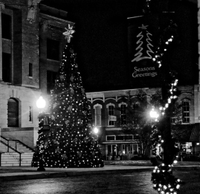 Small Town Christmas (BW)