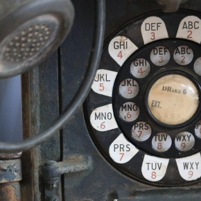 Old Bell System Box Phone