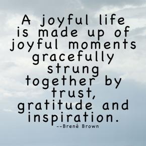 A Joyful Life — ThoughtfulThursdays